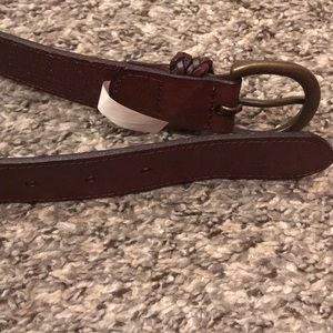 Abercrombie & Fitch Accessories - Abercrombie & Fitch Genuine Leather Belt